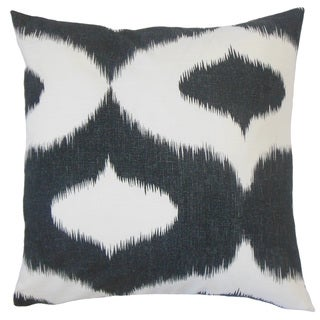 Himani Ikat Feather and Down Filled 18-inch Throw Pillow