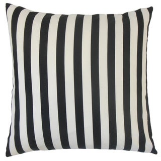 Tameron Stripes Feather and Down Filled 18-inch Throw Pillow