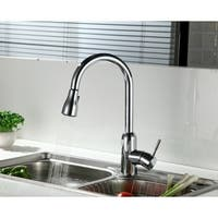 BIDET4ME, KM-07E, Kitchen Sink Faucet Pull Down/ Out 2-function Lead-free Spray Mixer Tap