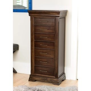 Hives & Honey Haley Walnut Jewelry Armoire