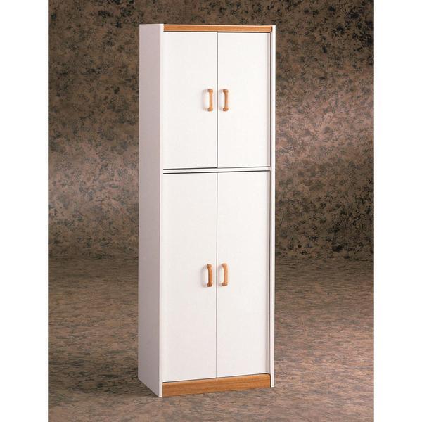Kitchen Pantry Cabinet For Sale: Shop Ameriwood Home Deluxe 72-inch Kitchen Pantry Cabinet