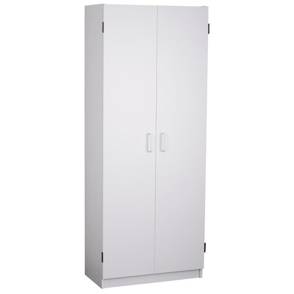 Ameriwood Home Flynn 24 Inch Kitchen Pantry Double Door