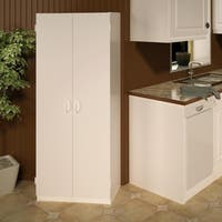 Ameriwood Home Flynn 24-inch Kitchen Pantry Double-door Cabinet