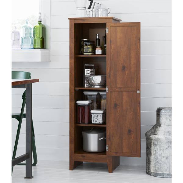 Systembuild Single Door Storage Pantry Cabinet Free Shipping Today 18037047