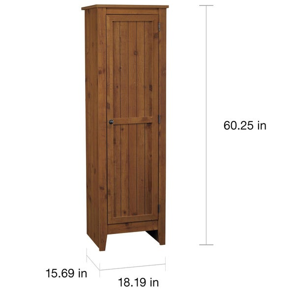 SystemBuild Single-door Storage Pantry Cabinet