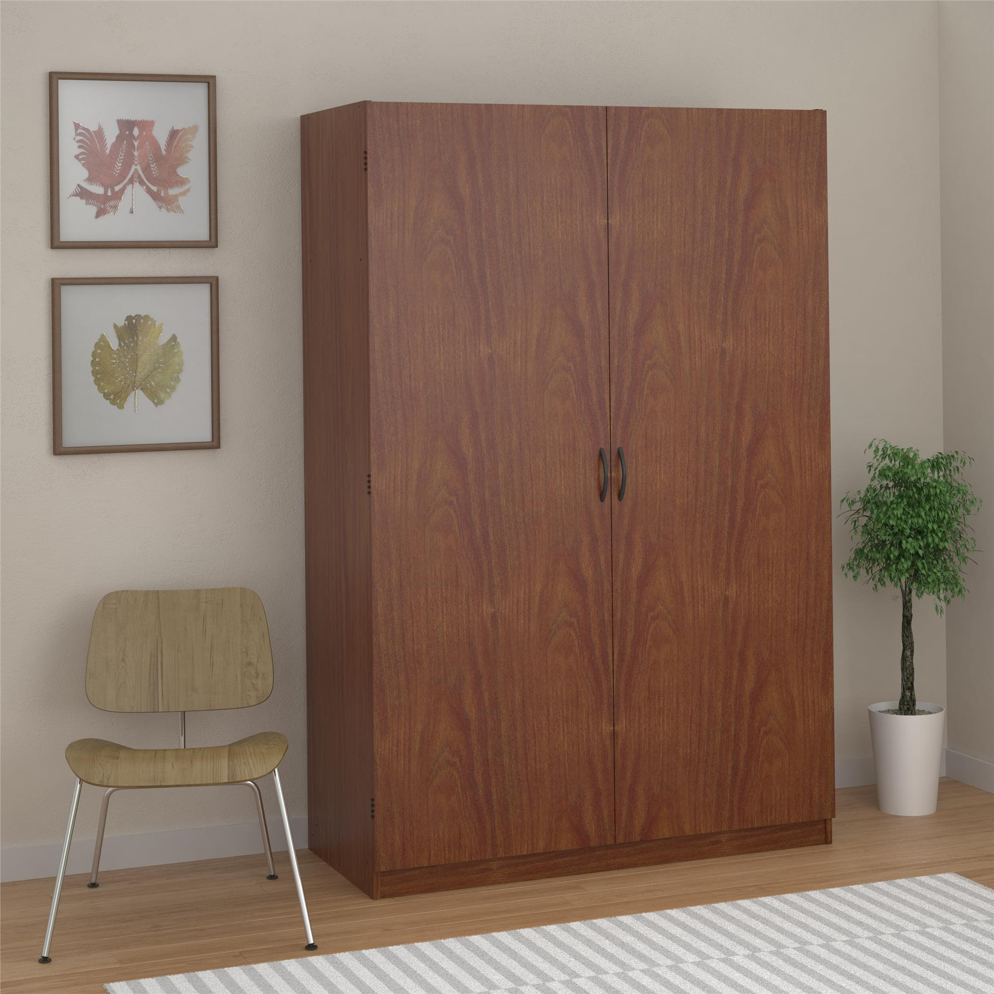 Ameriwood Home Kendrick Wardrobe Storage Closet (Wardrobe...