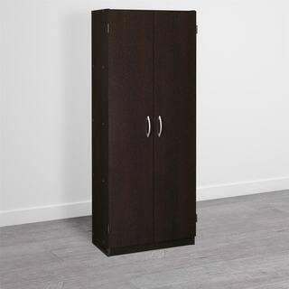 avenue greene anniston espresso storage cabinet - Kitchen Pantry Storage Cabinet