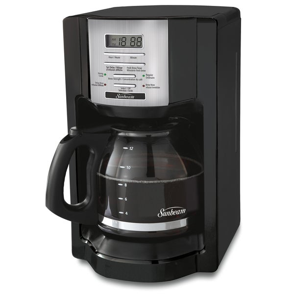 Sunbeam Bvsbehx23 12 Cup Programmable Coffee Maker