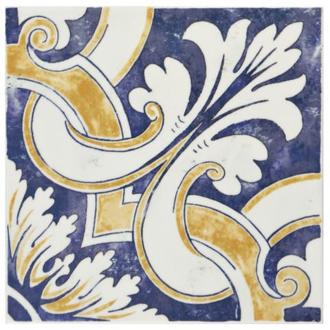 SomerTile 7.875x7.875-inch Borough Mondo Ceramic Wall Tile (25 tiles/11.46 sqft.)
