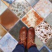 SomerTile 7.75x7.75-inch Truth Porcelain Floor and Wall Tile (25 tiles/11 sqft.)
