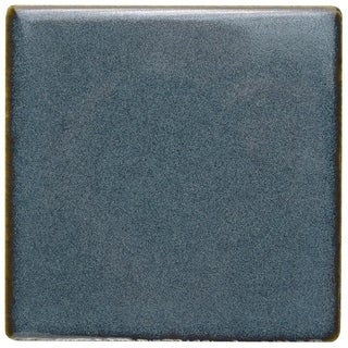 SomerTile 4x4-inch Aspect Sea Blue Porcelain Floor and Wall Tile (Case of 22)