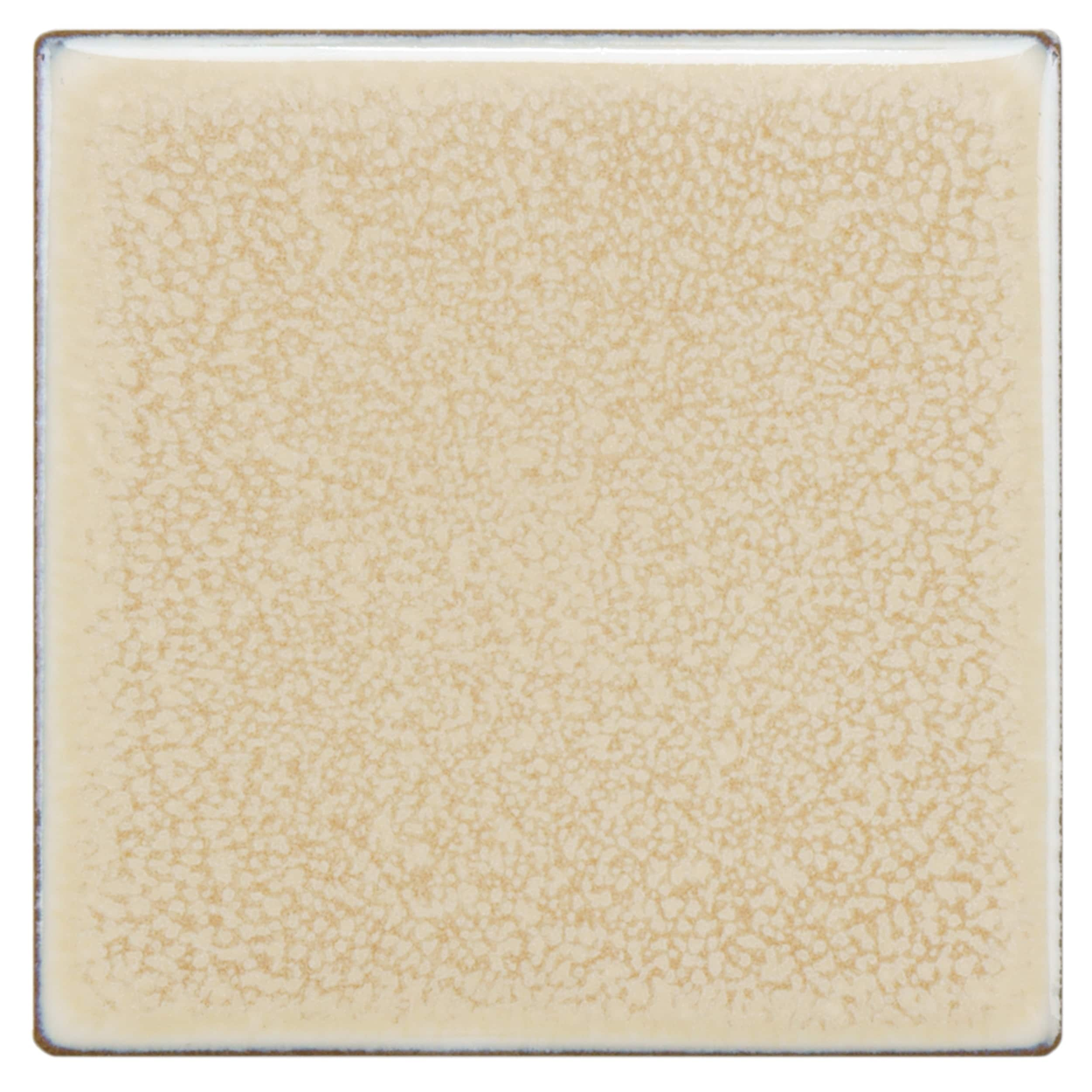 Somertile 4x4-inch Aspect Vanilla Porcelain Floor and Wal...