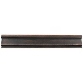 SomerTile 2x12-inch Courant Piazza Venetian Bronze Moldura Metallic Trim Wall Tile (Pack of 5)