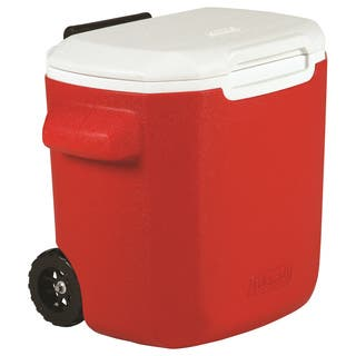 Coleman Red 16-quart Wheeled Cooler|https://ak1.ostkcdn.com/images/products/11021161/P18037205.jpg?impolicy=medium