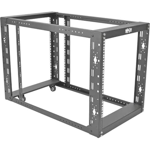 """Tripp Lite 12U 4-Post Open Frame Rack Cabinet Floor Standing 36"""" Depth"""