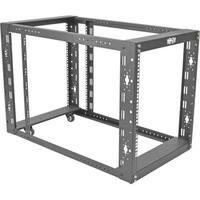 """Tripp Lite 12U 4-Post Open Frame Rack Cabinet Floor Standing 36"""" Dept"""