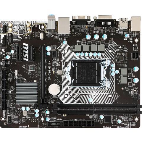 MSI H110M PRO-VD Desktop Motherboard - Intel Chipset - Socket H4 LGA-