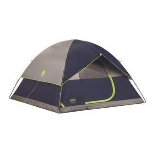 Coleman Navy Grey Tent Sundome 10x10