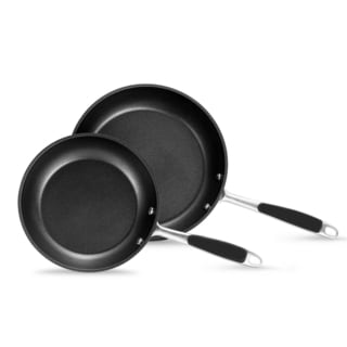 Momscook Signature Induction Compatible Nonstick 2-piece Skillet Set