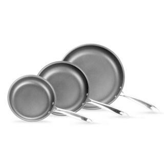 Momscook Professional Hard Anodized Nonstick 3-Piece Skillet Set