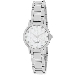 Kate Spade Women's 1YRU0146 Gramercy Round Silver Tone Stainless Steel Bracelet Watch