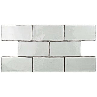 SomerTile 3x6-inch Antiguo Special Milk Ceramic Wall Tile (8 tiles/1 sqft.)