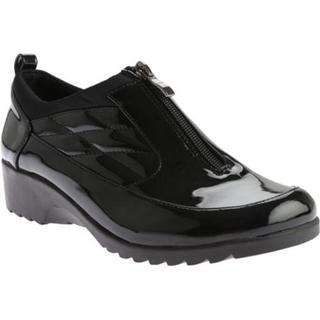 Women's Beacon Shoes Raindrop Shoe Bootie Black Patent Polyurethane