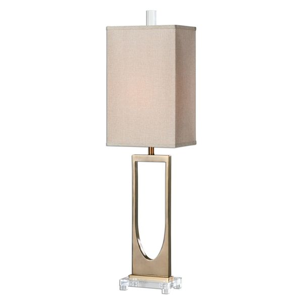 Genivolta Brushed Brass Lamp