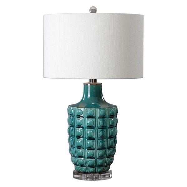 Monferrato Smoke Blue Table Lamp