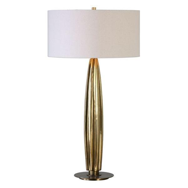 Bremner Gold 2-light Table Lamp