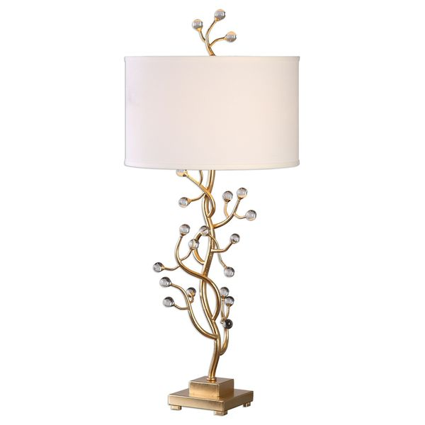 Bede Metallic Gold Table Lamp