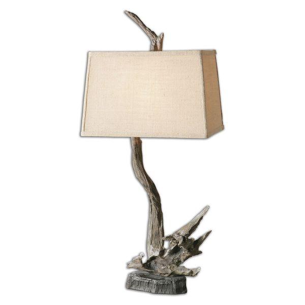Portland Wood Branch Lamp