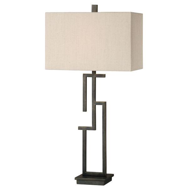 Demer Forged Metal Lamp
