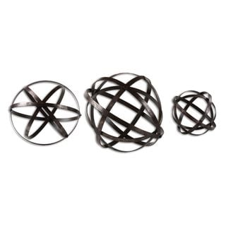 Stetson Bronze Spheres (Set of 3)