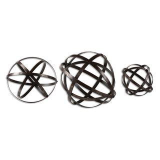 Stetson Bronze Spheres (Set of 3)
