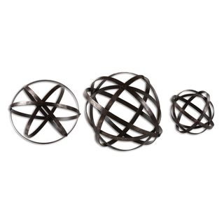Link to Stetson Bronze Spheres (Set of 3) Similar Items in Accent Pieces