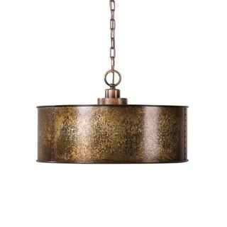 Wolcott 3-light Golden Pendant