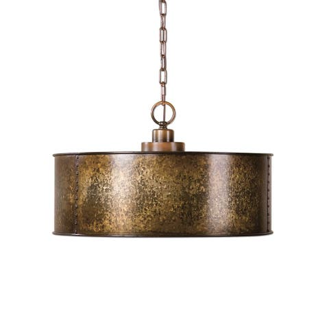 Wolcott 3-light Golden Pendant