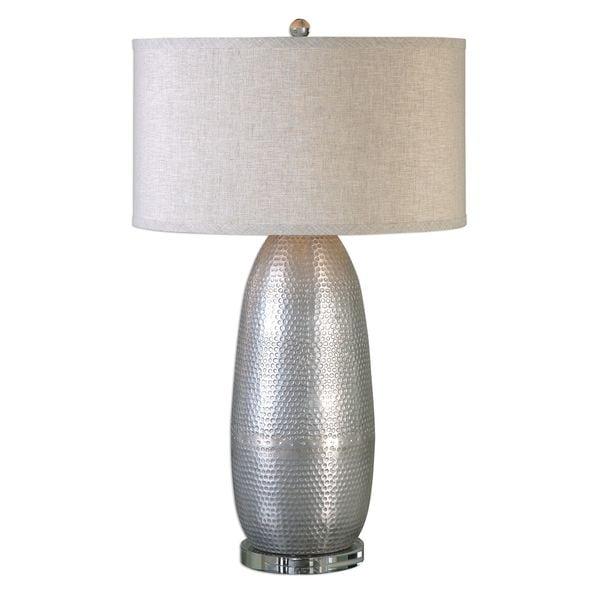 Tartaro Industrial Silver Table Lamp