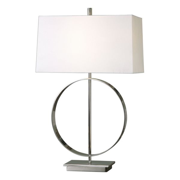 Addison Polished Nickel Lamp
