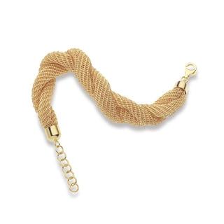 Decadence Shiny Twisted Fabric Bracelets