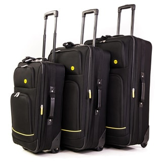 Bags Stonebridge 3-piece Rolling Upright Luggage Set