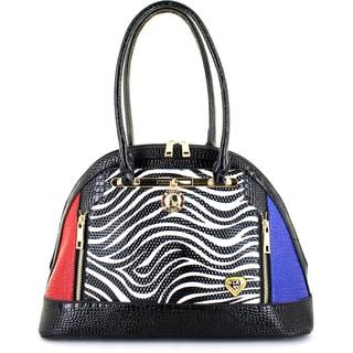 LANY Zebra Mania Bowler Bag