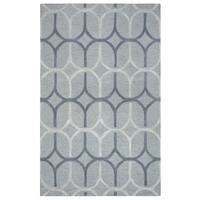 Rizzy Home Caterine Collection CE9653 Grey Area Rug - 8'x 10'