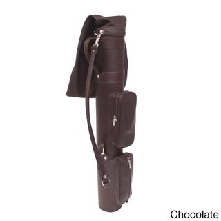 Piel Leather Executive Golf Travel Bag (3 options available)