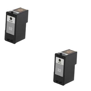 2 Pack Lexmark 18C0032 #32 Compatible Ink Cartridge For Lexmark Z810 Z812 ( Pack of 2 )