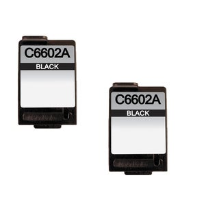 2 Pack HP C6602A Compatible Ink Cartridge For HP C6602A ( Pack of 2 )