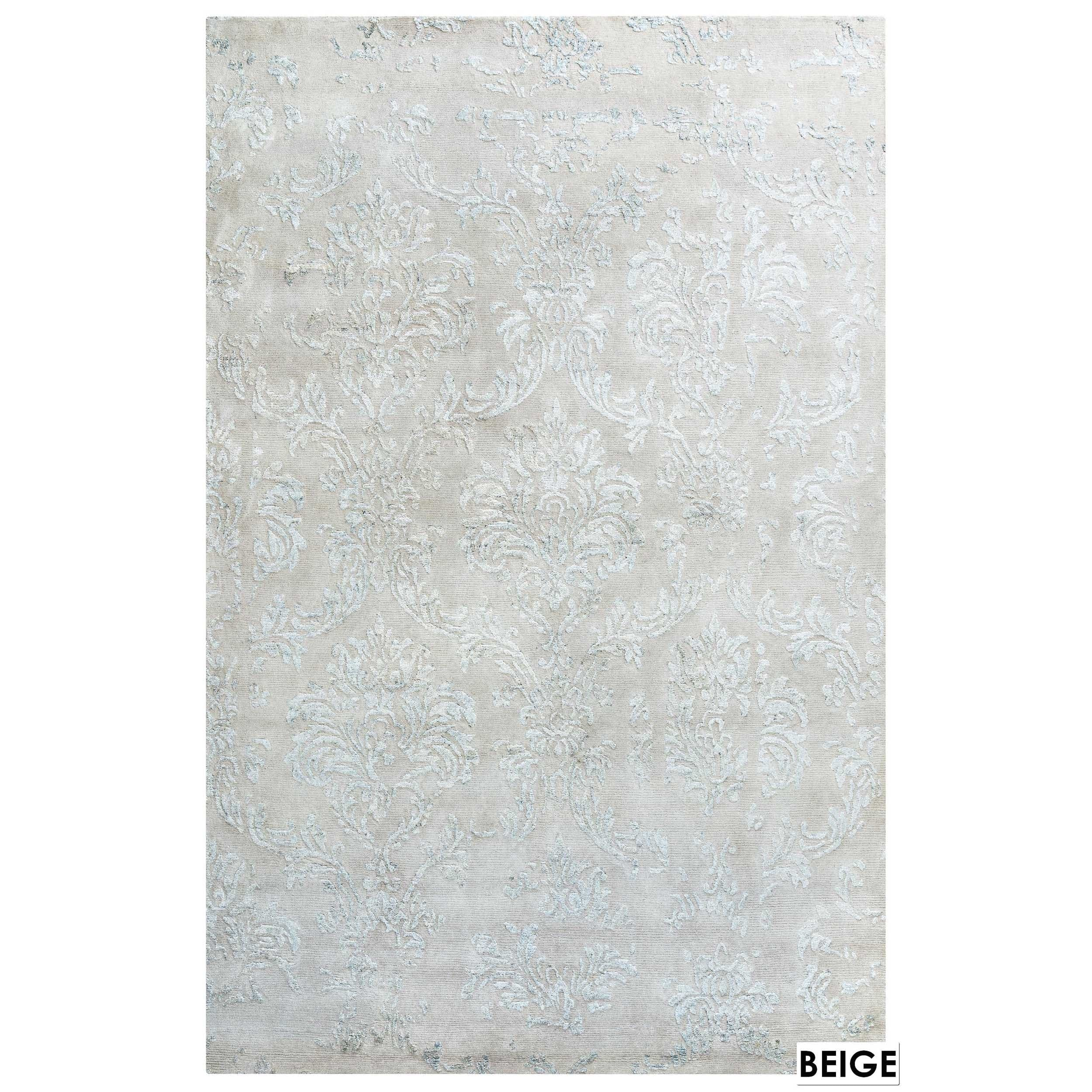 Rizzy Home Avant-Garde Collection Area Rug (56 x 86) (56 x 86 - ivory)