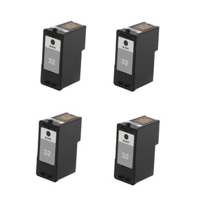 4 Pack Lexmark 18C0032 #32 Compatible Ink Cartridge For Lexmark Z810 Z812 ( Pack of 4 )