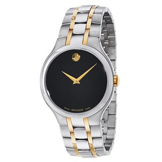 Movado Men's Collection Two-tone Stainless Steel Watch